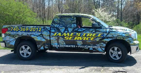 james-tree-service-truck